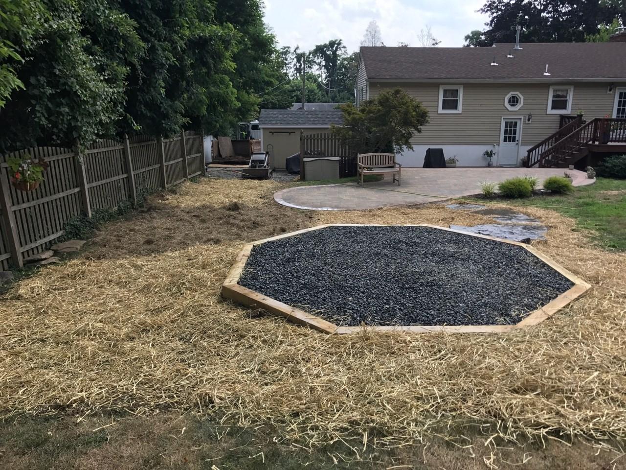 gravel pad