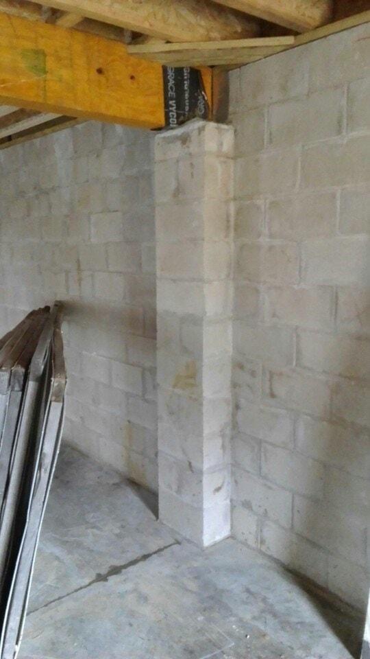 floor beam support repair