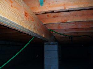 support floor beam repair